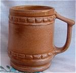 Frankoma Pottery Desert Gold Mug Cup