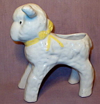 Hull Pottery Lamb Novelty Planter #965 1930-50