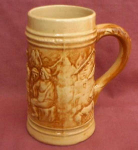 Hull Apline Early Stoneware Stein 1915-1930