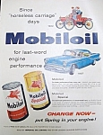 Vintage Magazine Ad - Mobiloil 1957 Maclean's