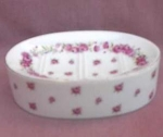 Lefton Japan 2761 Roses Soap Dish.