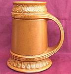 Mccoy Pottery Large Tankard Stein Mug
