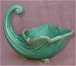 Nelson Mccoy Pottery Cornucopia Planter