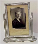 Lovely 1930s Art Deco Swivel Wood Frame