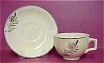 Art Deco Johnson Bros Cup & Saucer Victorian