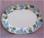Metlox Poppytrail Grape Platter Oval