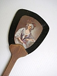 Antique Hand Mirror - Portrait - Lovely Lady