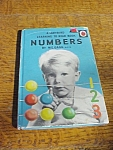 1959 Ladybird Numbers Book By M.e. Gagg