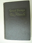 30's Great Songs Of The Church-hard Cover