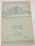 1949 Automobile Paint Shop