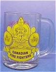 Carling O'keefe Beer Glass Cnd. Fire Fighters