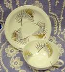Deco Teacup Set By Foley Cup And Saucer