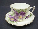 English China Cup&saucer-orchid