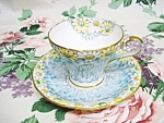 Aynsley China Cup And Saucer Made In England