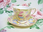 Chintz - Windsor Bone China Cup & Saucer