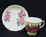 Royal Vale China Cup&saucer - Roses