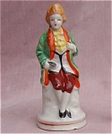 Occupied Japan Small Colonial Man Figurine