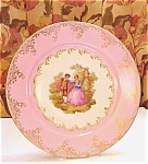 Germany Romantic Plate Signed