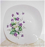 Lovely Stylecraft Midwinter Plate Violets