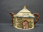 Pretty Figural Tea Pot - Tiny Cottage