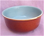 Red Wing Redwing Brown & Blue Utility Mixing Bowl