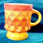 Fire-king Mug - Kimberly Anchor Hocking