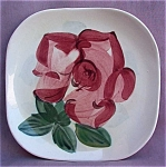Red Wing Redwing Lexington Rose Bread & Butter Plate