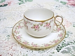 Lovely Limoges - France - Cup & Saucer