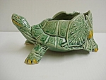 Figural Art Pottery Planter - Mccoy - Turtle