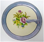Handled Hand Painted Noritake Dish