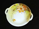 Pretty Hand Painted Floral Noritake Dish