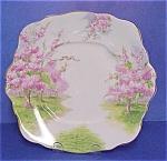 Royal Albert China Cake Plate Blossom Time