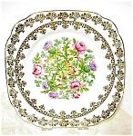 Vintage Royal Albert Plate - Thistle & Roses