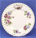Royal Albert China Plate Anemones