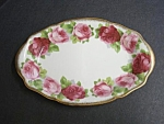 Old English Rose Oval Tray
