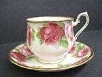 Royal Albert Cup And Saucer-old English Rose