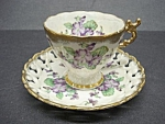 Shafford Hand Painted Cup&saucer