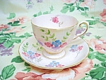 Tuscan China Cup&saucer - Hand Painted