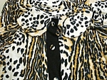 Gorgeous Leopard Print Ladies Housecoat