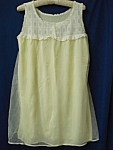 Beautiful Vintage Ladies Nightgown