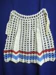 Lace Apron Hand Crocheted