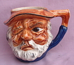 Old Man Toby Head Figural Decorative Mug