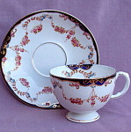 #2 Diamond China Blyth Porcelain Cup And Saucer