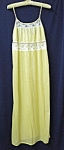 Lovely Pastel Yellow Vintage Nightgown