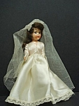 Pretty Vintage Hard Plastic - Bride Doll