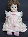 Vintage Large Porcelain Doll