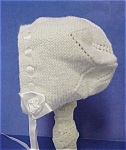 Lovely Knitted Baby Bonnet Perfect For A Doll