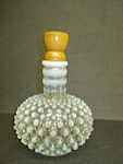 Fenton Opalescent Hobnail Barber Bottle