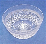 Quality Cut Crystal Bowl - Webb Of England