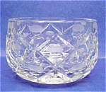 Lovely Round Heavy Cut Crystal Bowl